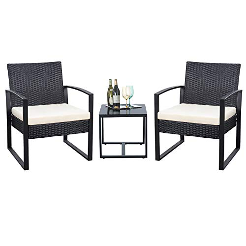 3pcs Outdoor Patio Furniture Set