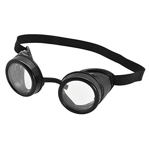 Bristol Novelty BA615 Pilot Schutzbrille, Schwarz
