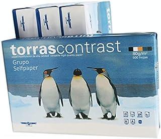 Paquete de 500 Hojas Din A4 80 gr. Folios Papel Blanco Din A4 idoneo Impresoras tinta, laser, fotocopias, color injet, fax.
