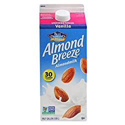 Almond Breeze Unsweetened Vanilla, Almondmilk, 64 Fl Oz