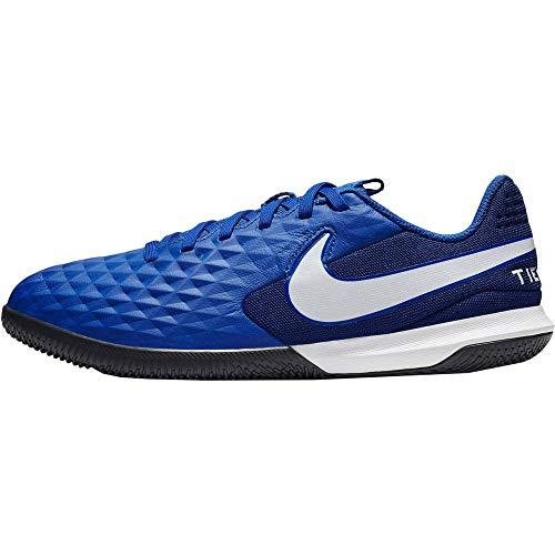 Nike Jr. Tiempo Legend 8 Academy IC, Scarpe da Calcio Unisex-Bambini, Multicolore (Hyper Royal/White/Deep Royal Blue 414), 33 EU