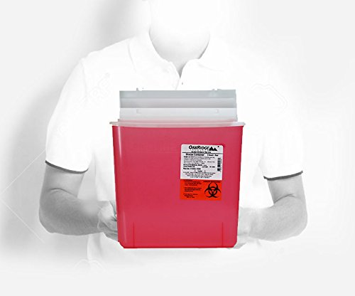 buy  Oakridge 5 Quart Sharps Container (3 Pack) Mailbox ... Diabetes Care