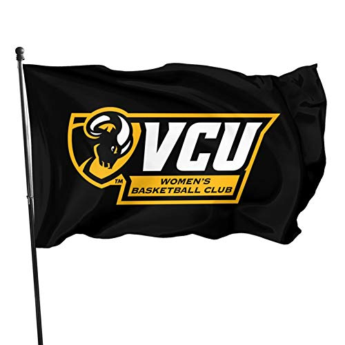 Ali Yee VCU R-AMS 3x5 Feet Flag Outdoor Decorations Garden Farmhouse Yard Sign Banner,Vivid Color and Uv Fade Resistant with Grommets