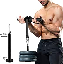 PELLOR Wrist & Forearm Blaster Roller Back Exerciser Strengthener Anti-Slip Trainer Arm Strength Training Fitness Equipment for Home Gym,Triceps Extensions Fitness Workout Professional Equipment
