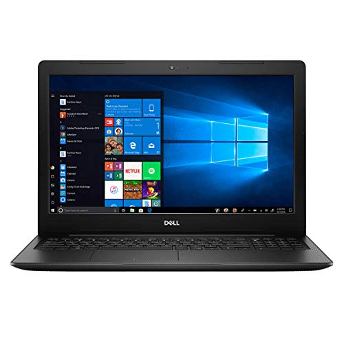 Dell Inspiron 15.6' FHD Touchscreen Laptop Computer 10th Gen Intel Quad-Core i5 1035G1 up to 3.6GHz 12GB DDR4 RAM 512GB PCIE SSD 802.11ac WiFi Bluetooth 4.2 USB 3.1 HDMI Windows 10 Home Black