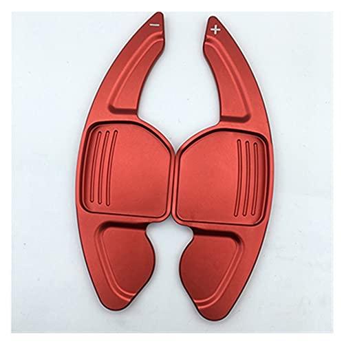 JZLMF Pagaia del Volante dell'auto Shifter Paddle Steering Wheel Extension Shift per Se-at Alha-mbra/Ate-ca/Le-on FR/Le-on/Le-on 4 5F Cu-Pra (Color : Rosso)