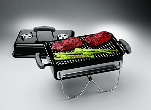 Weber 121020 Go-Anywhere Charcoal Grill,Black,14.5