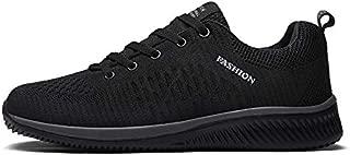 Msanlixian New Breathable Men Sneakers Shoes Super Light Shoes Male Summer Men Casual Shoes Large Size 47 Couple Walking Shoes Black 9.5