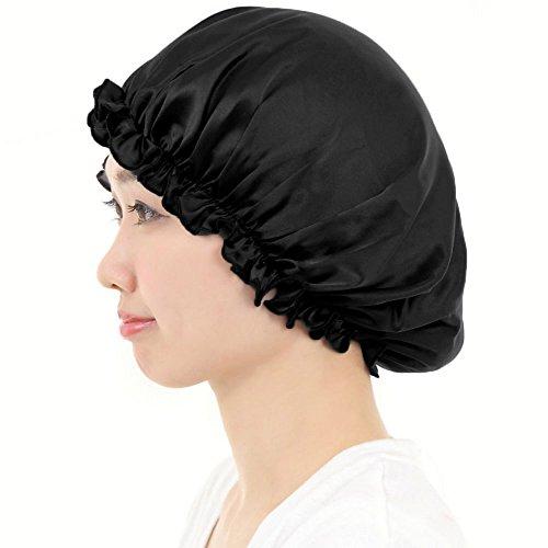AQshop comfort silk ロングヘア用 シルク 100% ナイトキャップ