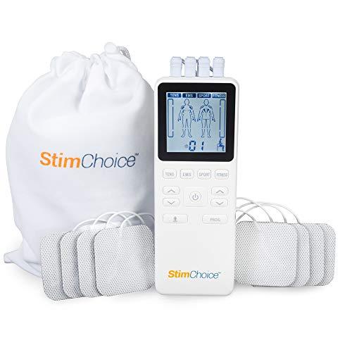 StimChoice 4000 TENS Unit Muscle Stimulator and EMS Muscle Stimulator...