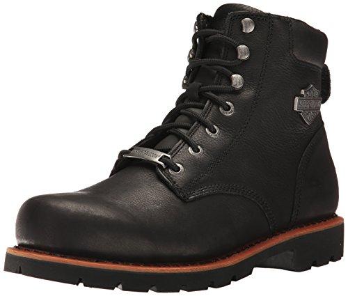 Harley Davidson Mens Vista Ridge Brown Leather Boots 45 EU