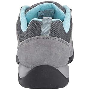 Columbia Women's Redmond V2 Hiking Shoe, Graphite, Blue Oasis, 7.5 Regular US
