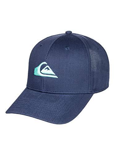 Quiksilver Decades-Gorra con Ajuste Posterior A Presión para Hombre Cap, Majolica Blue, 1SZ