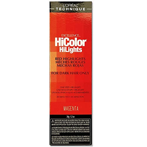 L'oreal Excellence Hicolor, Red Magenta Highlights, 1.2 Ounce