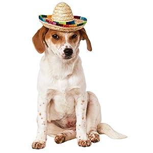 Rubies Pet Sombrero Hat with Multicolor Trim
