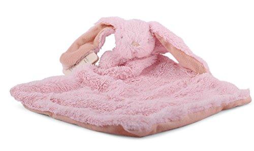 Sonnenscheinschuhe® 1 x Baby Schmusetuch Hase Rosa Kuscheltuch Babytuch Kuscheltier Nr.1 Tuch