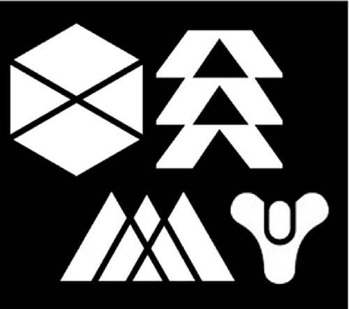 MAF PC Trading Destiny 4 Vinyl-Aufkleber, Videospiel-Aufkleber, Titan, Warlock, Jäger, Bungi, Autoaufkleber