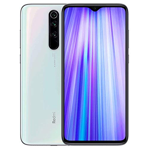 Xiaomi Redmi Note 8 Pro Smartphone,6GB RAM 128GB ROM Mobilephone,6.53'Full Screen,MTK Helio G90T Octa Core,Quad Camera (64MP + 8MP + 2MP + 2MP) Versione globale (Bianco)