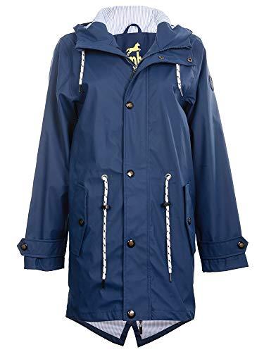 DEPROC-Active Regenmantel Damen SEESTERNLIEBE Farbe darkblue, Größe 52