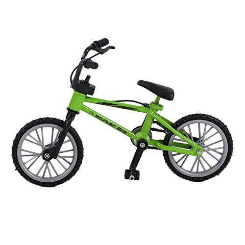 Heaviesk Mini tamaño simulación aleación Dedo Bicicleta niños niño Funnt Mini Dedo...