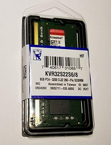Kingston KCP426SS6/8 - Memoria RAM SO-DIMM (8 GB, DDR4-2666