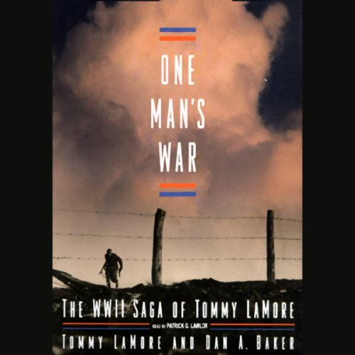 One Man's War audiobook cover art