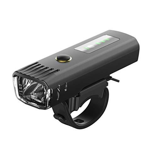 Zvivi Bicicleta Luz Sensor Faro Luz USB Carga Smart Vibration Alemán Estándar...