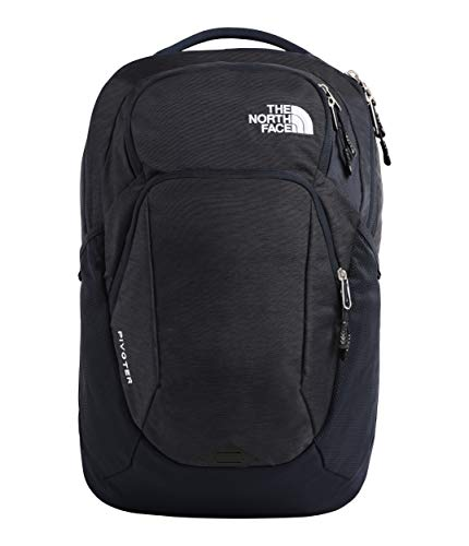 The North Face Pivoter Backpack, Urban Navy Light Heather/TNF White, One Size