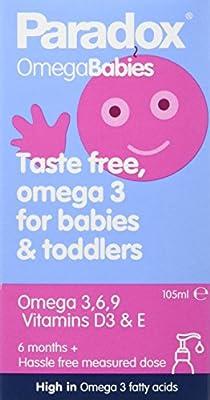 Paradox Omega 3, 6 and 9 Babies 105ml by Paradox Omega Oils Ltd