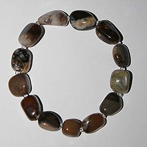 Dendritic Agate Gemstone Bracelet
