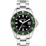 Gigandet SEA GROUND Automatik Herren Armbanduhr 'G2' Taucheruhr mit Edelstahlarmband - G.