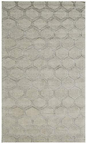 Bakero Teppich, Wolle/Viskose, Crème, 183 x 122 x 1.2 cm