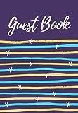 Guest Book: Registro de huéspedes para el alquiler de casas y apartamentos de vacaciones AirBnb - Trilingüe (inglés, francés y español)