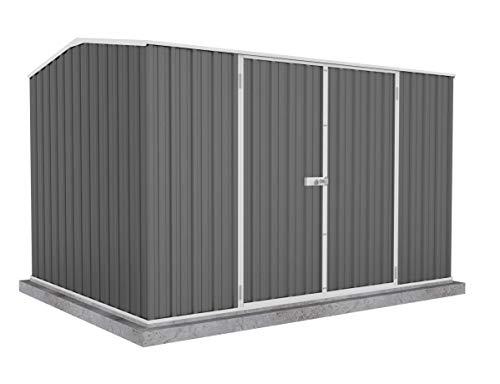 ABSCO 30232GK Premier Storage Shed, 10'x7', Woodland Grey