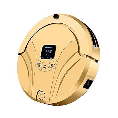 LG Snow Roboter-Staubsauger, intelligenter Haushalt intelligentem Aufladungsmaschine, automatische Routenplanung, automatische Induktion, super Saug DREI in einem (Color : Gold)