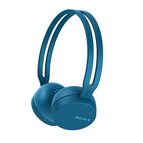 Sony WH-CH400 Wireless Headphones, Blue (WHCH400/L)