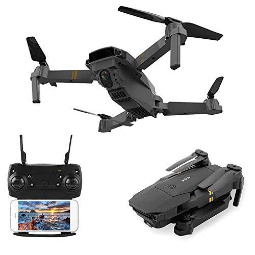 XIUNIA Drone Plegable 2 4G WiFi GPS FPV Drone Cámara Aérea de Operación de Alta Altitud Y 720P/1080P/4K Cámara de Alta Definición Toma/Aterrizaje de Una Tecla Rodamiento de 360 ° Control