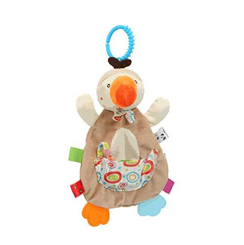 BabySpielzeug,Rasseln & Greiflinge,Multifunktionales Baby-Speichelhandtuchfür Babys und Kleinkinder ab 3 6 9 12 Monaten.