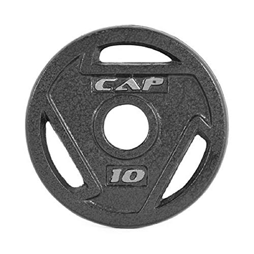 CAP Barbell 2-Inch Olympic Grip Plate (10-Pound (Set of 4))