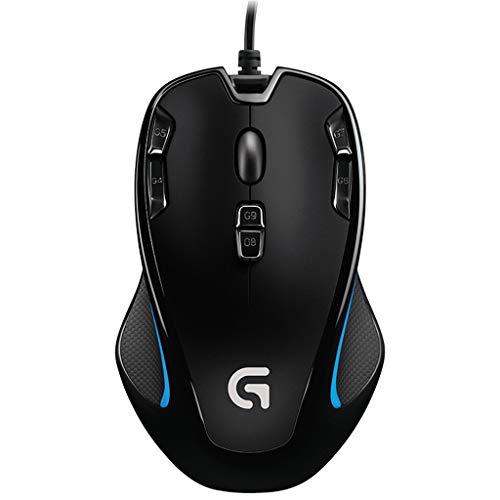 RGB Wired Gaming Maus, Programmierbare ergonomische Maus mit 9 Tasten und 7 Farben Hintergrundbeleuchtung kompatibel mit Laptop PC Computer