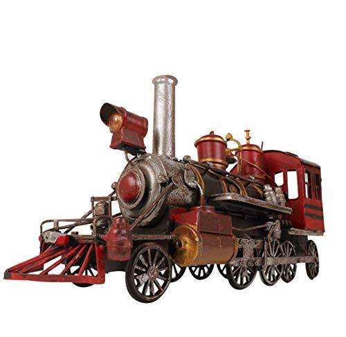 FACAI Modelo de Locomotora Retro Modelo de Coche de Hierro