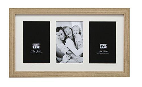 Deknudt Frames S66KB3 Cadre Photo pour 3 Photos Vertical Naturel 13 x 18 cm