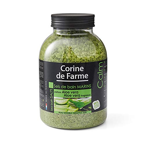 Corine de Farme Meeres-Badesalz, beruhigend mit Aloe Vera