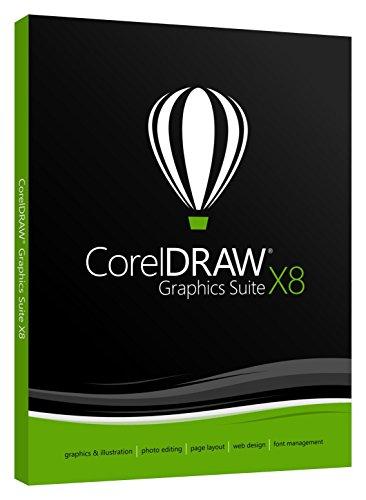 CorelDraw Graphics Suite X8 EN/DVD Box