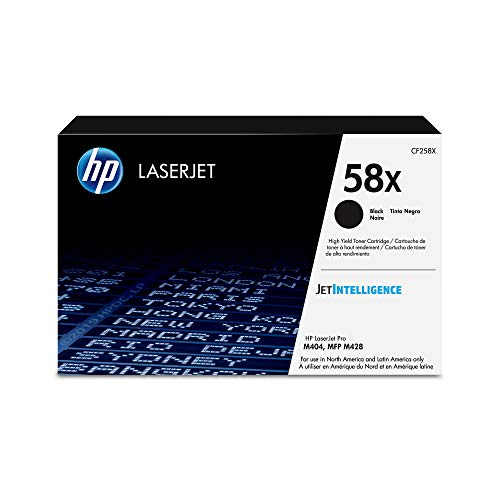 HP 58X | CF258X | Toner Cartridge | Black | High Yield