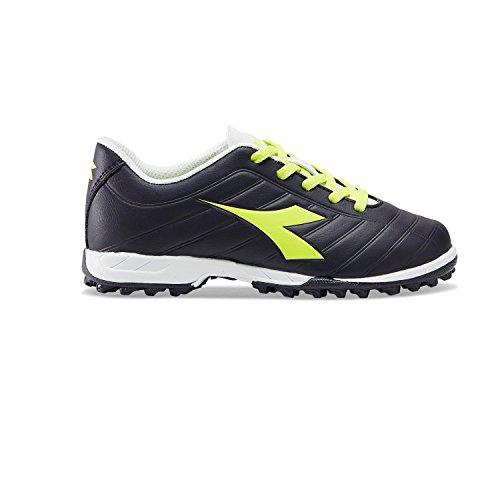 Diadora Pichichi Tf Jr, Indoor-Fußballschuhe, Unisex-Kinder, Mehrfarbig - C7675 Schwarz Gelb - Größe: 34 EU