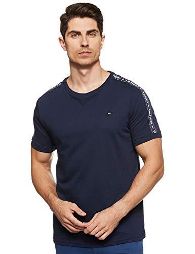 Tommy Hilfiger RN tee SS Camiseta, Azul (Navy Blazer 416), X-Large para Hombre