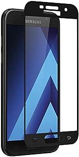 سامسونج جالكسي A7 (2017) لاصقة حماية زجاجية عالية الوضوح بالكامل 3D - أسود