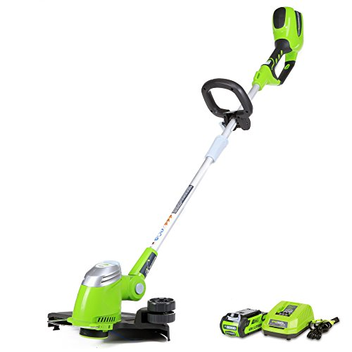 Greenworks 40V 13-Inch Cordless String Trimmer/Edger, 2.0 AH...
