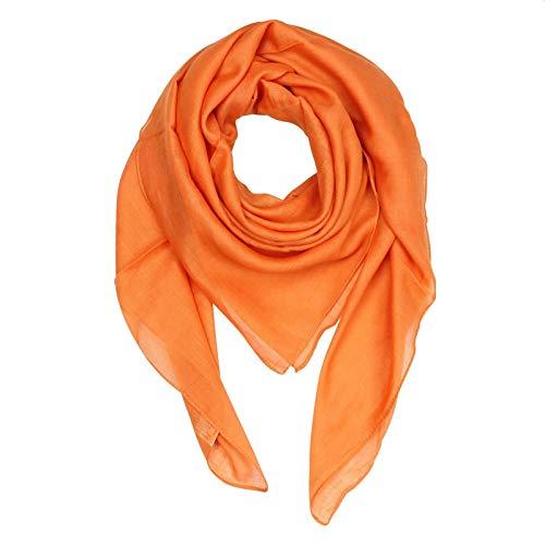 Superfreak Baumwolltuch - orange - quadratisches Tuch